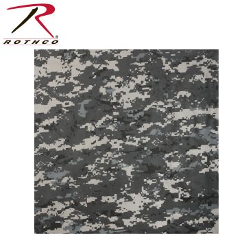 Rothco Large Digital Camo Bandana-