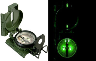 Cammenga G.I. Military Tritium Lensatic Compass (Model#3H)-