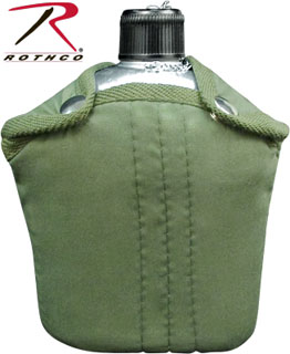 Rothco G.I. Style Canteen and Cover-Rothco