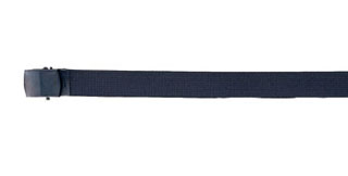 Rothco Nylon Web Belt - Black Webbing-