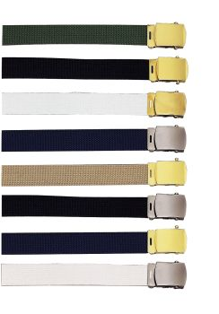 Rothco 64 Inch Military Color Web Belts-