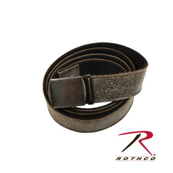 Rothco Reversible Vintage Leather/Poly Web Belt-Rothco