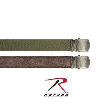 Rothco Reversible Vintage Leather/Poly Web Belt-