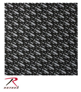 Rothco Bandana / Bombs Pattern-Rothco
