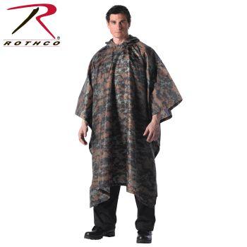 4358_Rothco GI Type Military Rip-Stop Poncho-Rothco