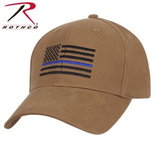 Rothco Thin Blue Line Flag Low Profile Cap-