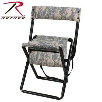 Rothco Deluxe Folding Stool With Pouch-Rothco