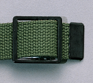 Rothco Black Open Face Web Belt Buckle-