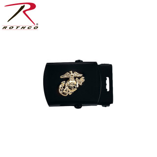 Rothco Web Belt Buckles w/ USMC Emblem-