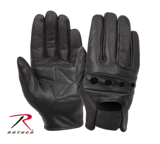 Rothco Leather Motorcycle Gloves-