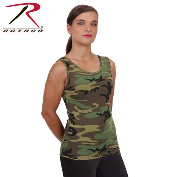Rothco Womens Camo Stretch Tank Top-Rothco