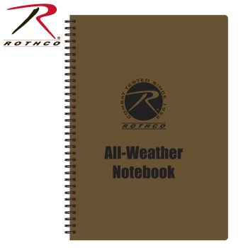 Rothco All Weather Waterproof Notebook-Rothco