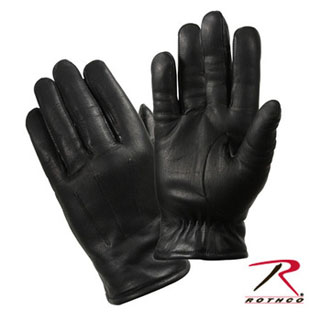 Rothco Cold Weather Leather Police Gloves-Rothco