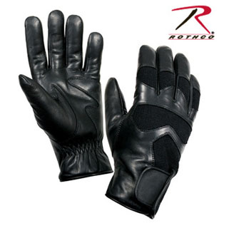Rothco Cold Weather Leather Shooting Gloves-
