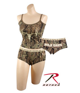 "Rothco ""Wild Game"" Booty Shorts & Tank Top-Rothco"