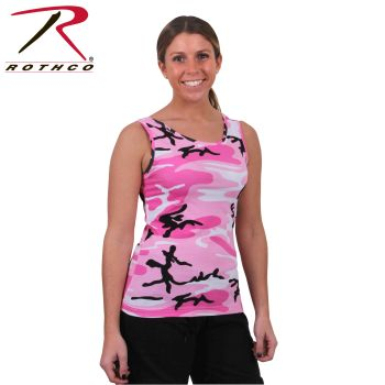 Rothco Womens Camo Stretch Tank Top-
