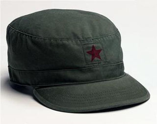 Rothco Vintage Fatigue Cap w/ Red Star-Rothco