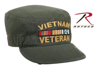 Rothco Vintage Vietnam Veteran Fatigue Cap-Rothco