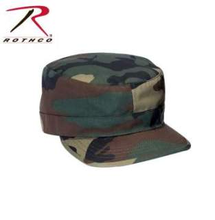 Rothco Adjustable Camo Fatigue Cap-Rothco