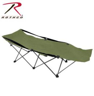 Rothco Deluxe Folding Camping Cot-
