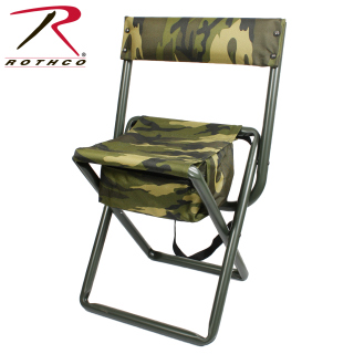 Rothco Deluxe Folding Stool With Pouch-