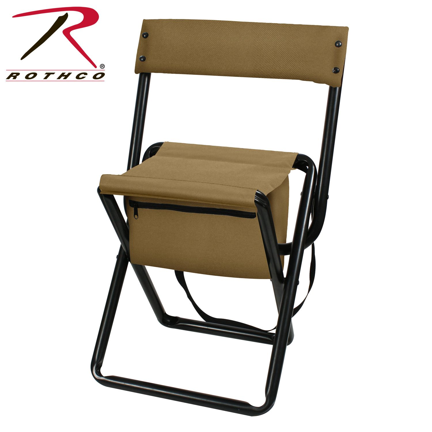 Terrific Buy Rothco Deluxe Folding Stool With Pouch Rothco Online Caraccident5 Cool Chair Designs And Ideas Caraccident5Info