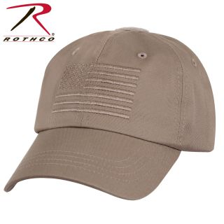 Rothco Tactical Operator Cap With US Flag-Rothco