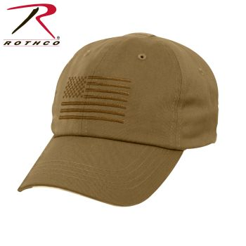 Rothco Tactical Operator Cap With US Flag-