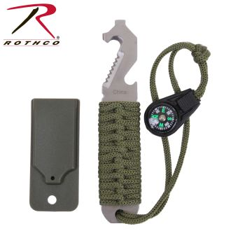 Rothco Paracord Survival Pry Tool-Rothco