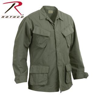 Rothco Vintage Vietnam Fatigue Shirt Rip-Stop-Rothco