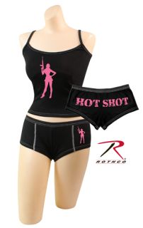 Rothco Hot Shot Booty Shorts & Tank Top-