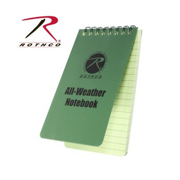 Rothco All Weather Waterproof Notebook-