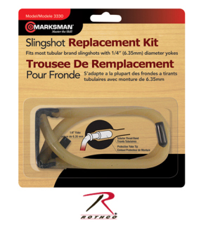 Marksman Slingshot Replacement Kit-Rothco