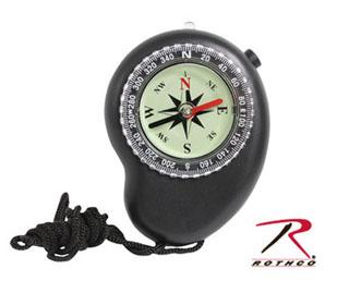 Rothco LED Compass with Lanyard-Rothco