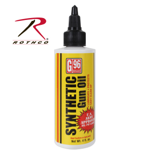 G96 Synthetic Clp Gun Oil- 4 Oz.