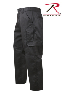 Rothco Black R/S Tactical Duty Pants