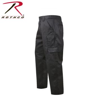 4766 Rothco Black R/S Tactical Duty Pants