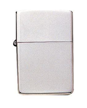 Zippo High Polish Chrome Lighter-Rothco