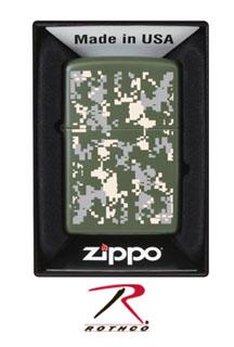 Zippo Lighter- A.C.U Digital Camo-Rothco