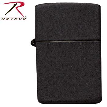 Zippo Black Matte Lighter-