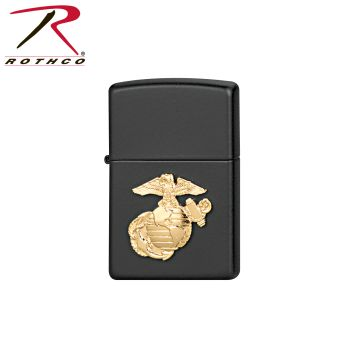 Zippo Military Crest Lighters-Rothco
