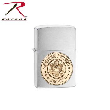 Zippo Military Crest Lighters-