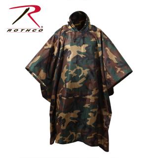 Rothco G.I. Type Military Rip-Stop Poncho-Rothco