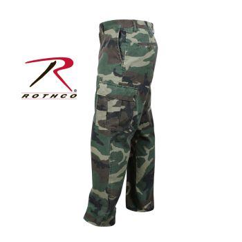Rothco Vintage 6-Pocket Flat Front Fatigue Pants-