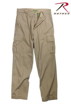 Rothco Vintage 6-Pocket Flat Front Fatigue Pants-Rothco