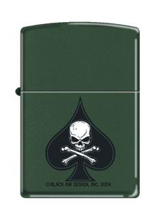 Death Spade Zippo Lighter-Rothco