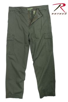 Rothco Vintage 6-Pocket Flat Front Fatigue Pants-