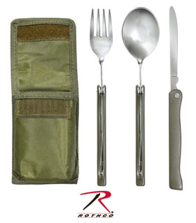Rothco Chow Set With Pouch-Rothco