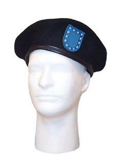Rothco G.I. Type Beret w/ Blue Flash-