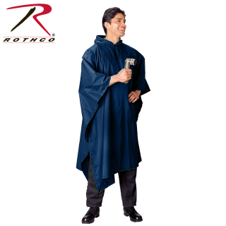 Rothco G.I. Type Military Rip-Stop Poncho-